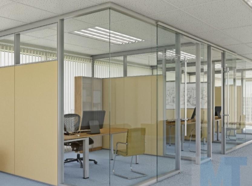 Ruang Kantor dengan Kaca