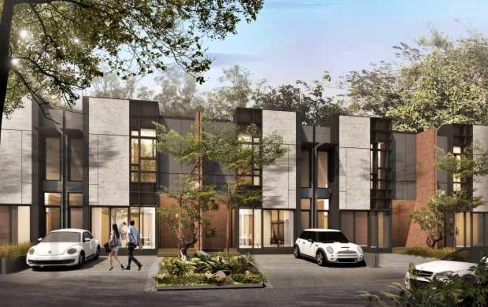 model-rumah-cluster-tanpa-pagar