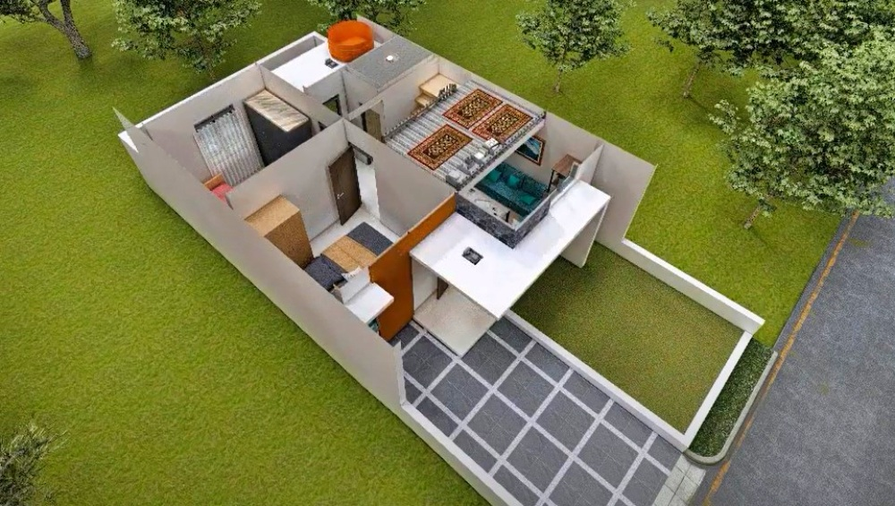 6-desain rumah type 36
