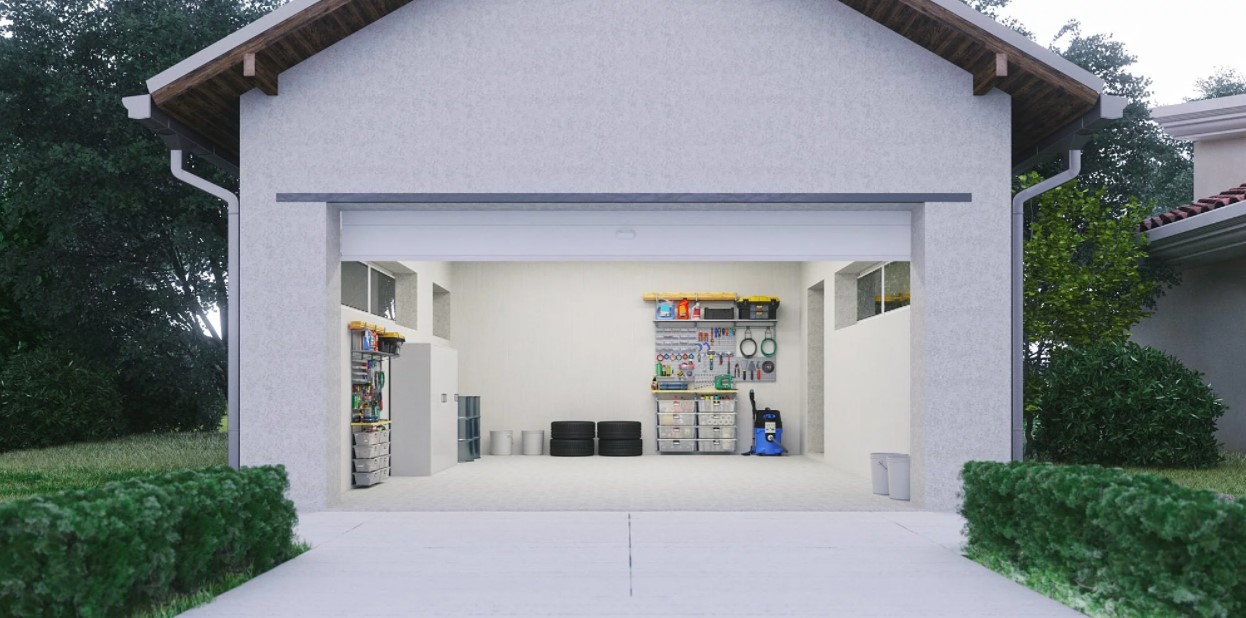 Garasi Rumah Minimalis