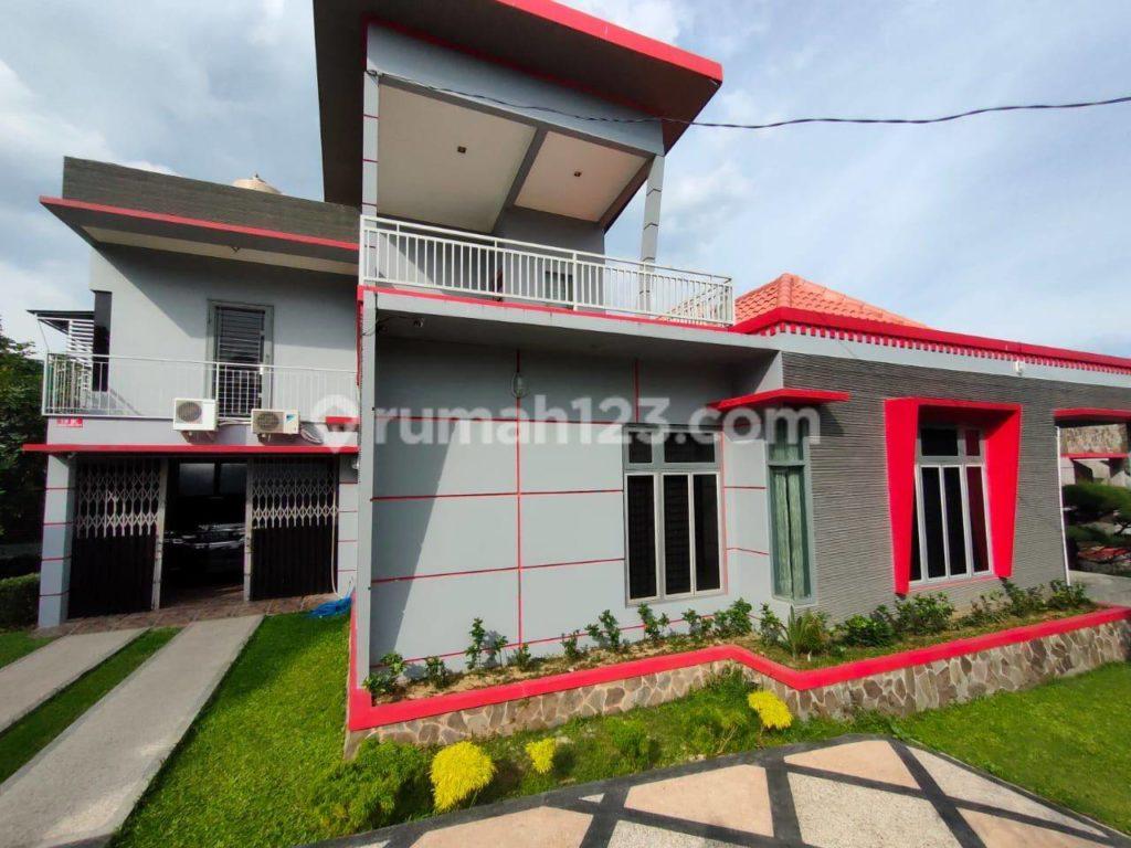 rumah mewah 2 lantai pekanbaru