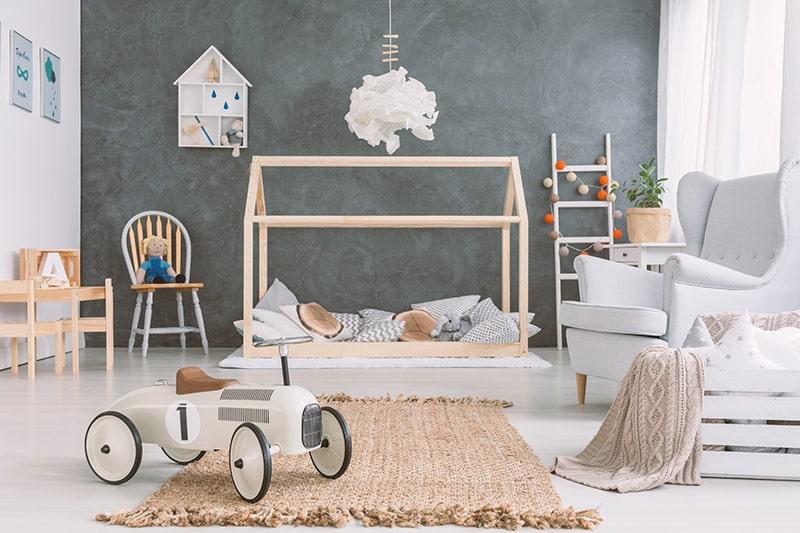 Kamar Bayi dengan Gaya Skandinavia
