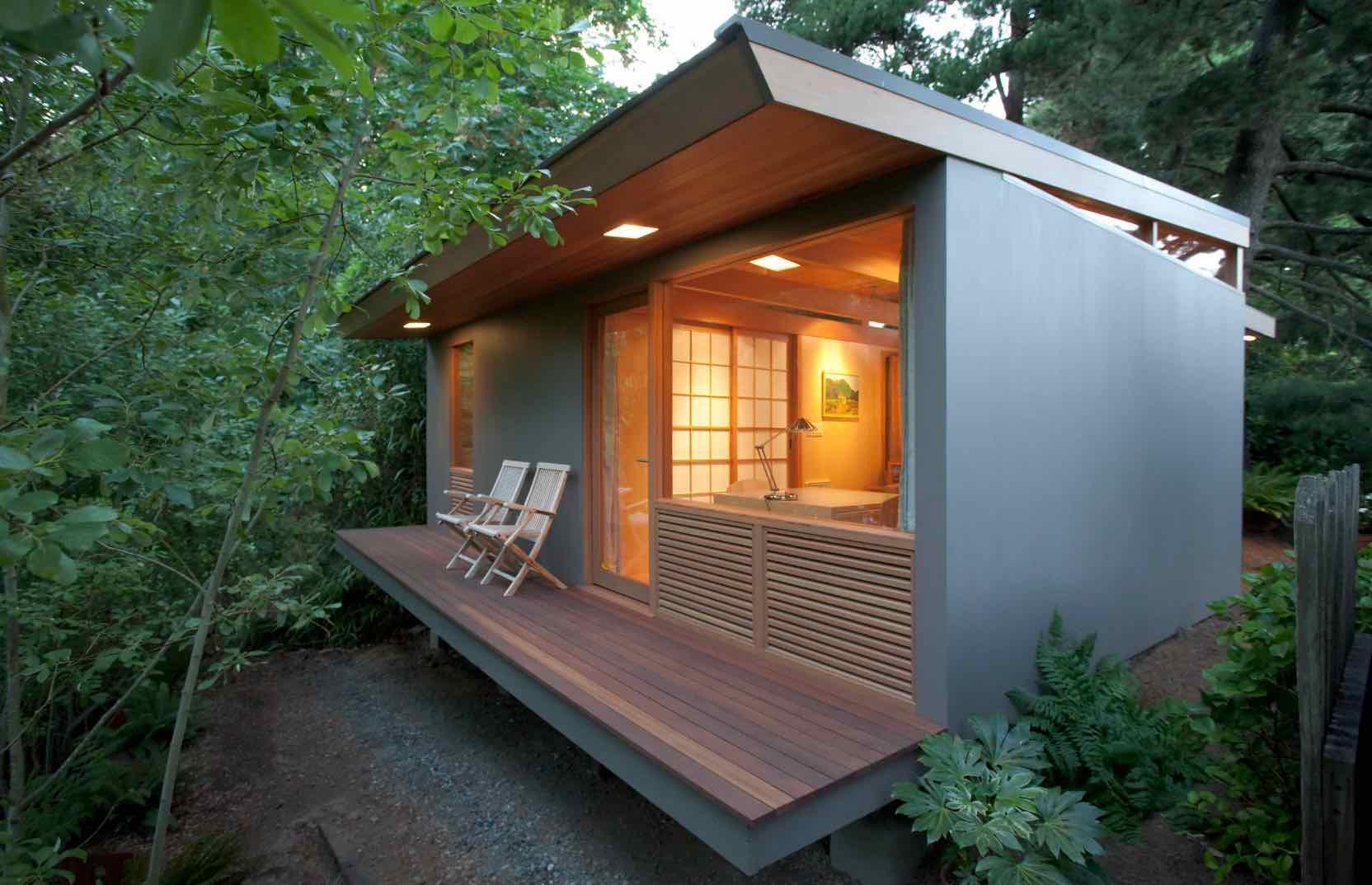 Eksterior Rumah Minimalis Bergaya Jepang