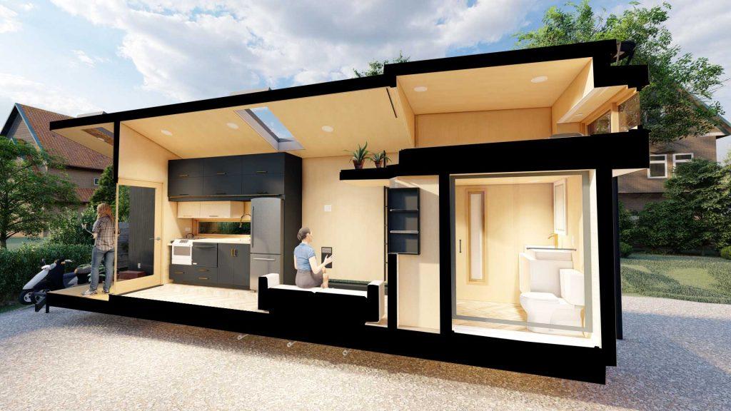 Interior Rumah Mungil dengan Desain Minimalis