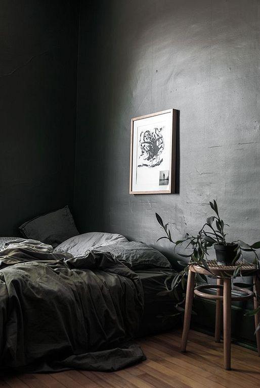 Desain kamar tidur minimalis Industrial_1