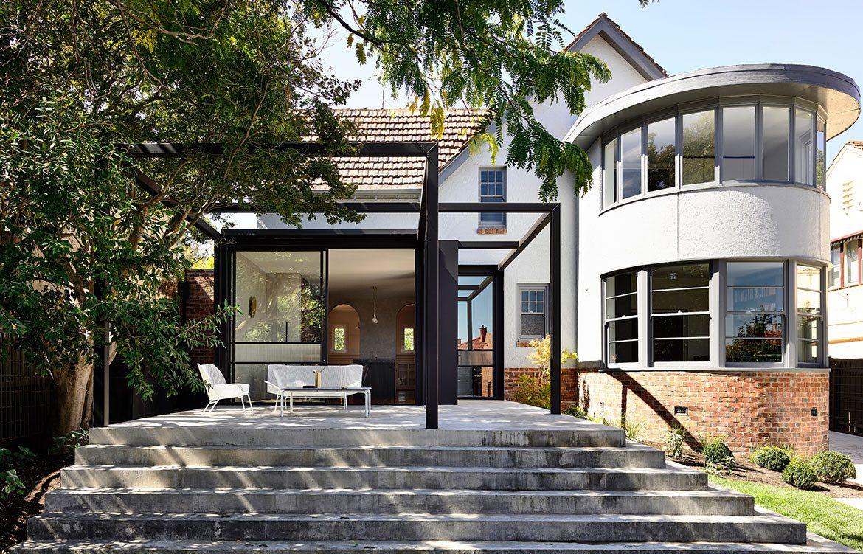 rumah art deco dan cirinya
