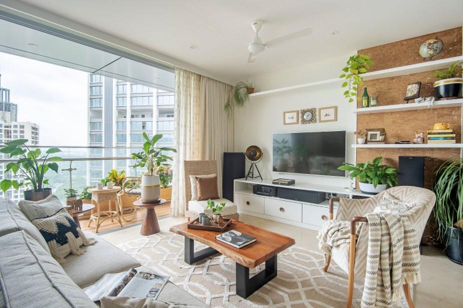 Rumah Konsep Apartemen Desain Hunian Tropis