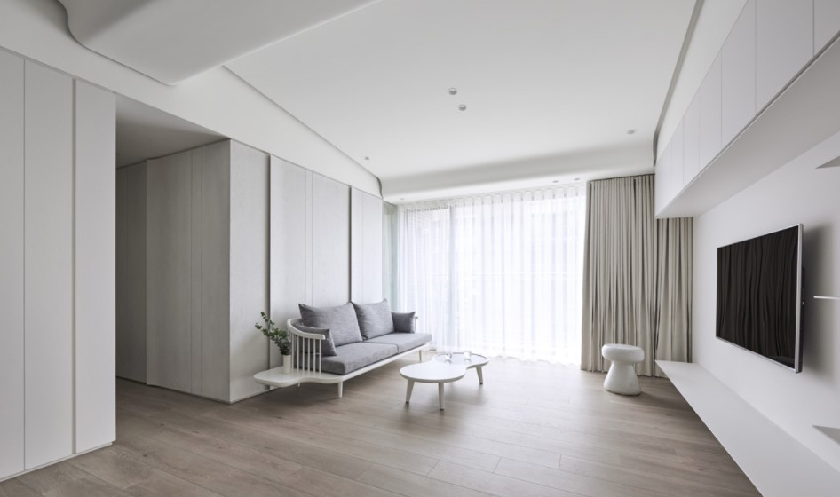 Rumah Konsep Apartemen Minimalis Modern