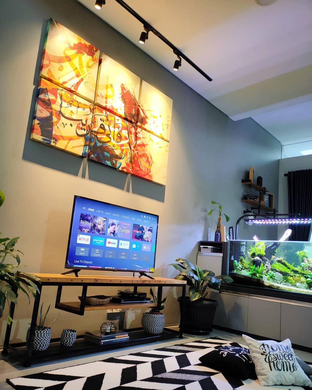 Ruang TV Minimalis Kecil_4