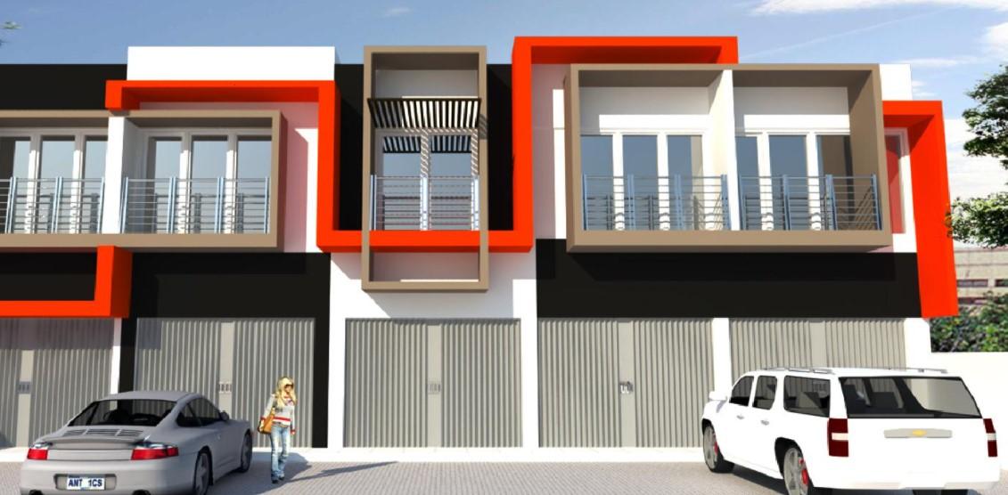 Desain Warna Cat Ruko 1 Lantai Modern
