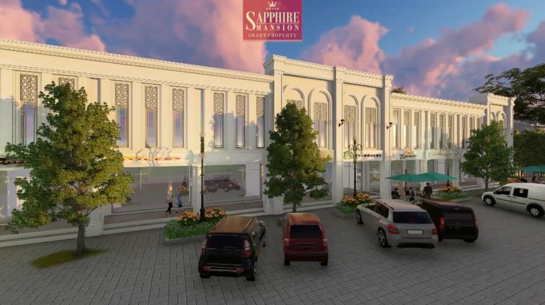 Ruko 3 Lantai Sapphire Mansion Purwokerto