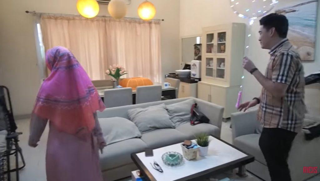 ruang tengah rumah ifan seventeen