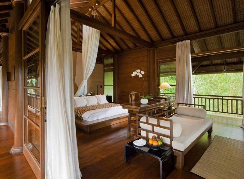 Desain kamart tidur tradisional Bali, desain kamar tidur