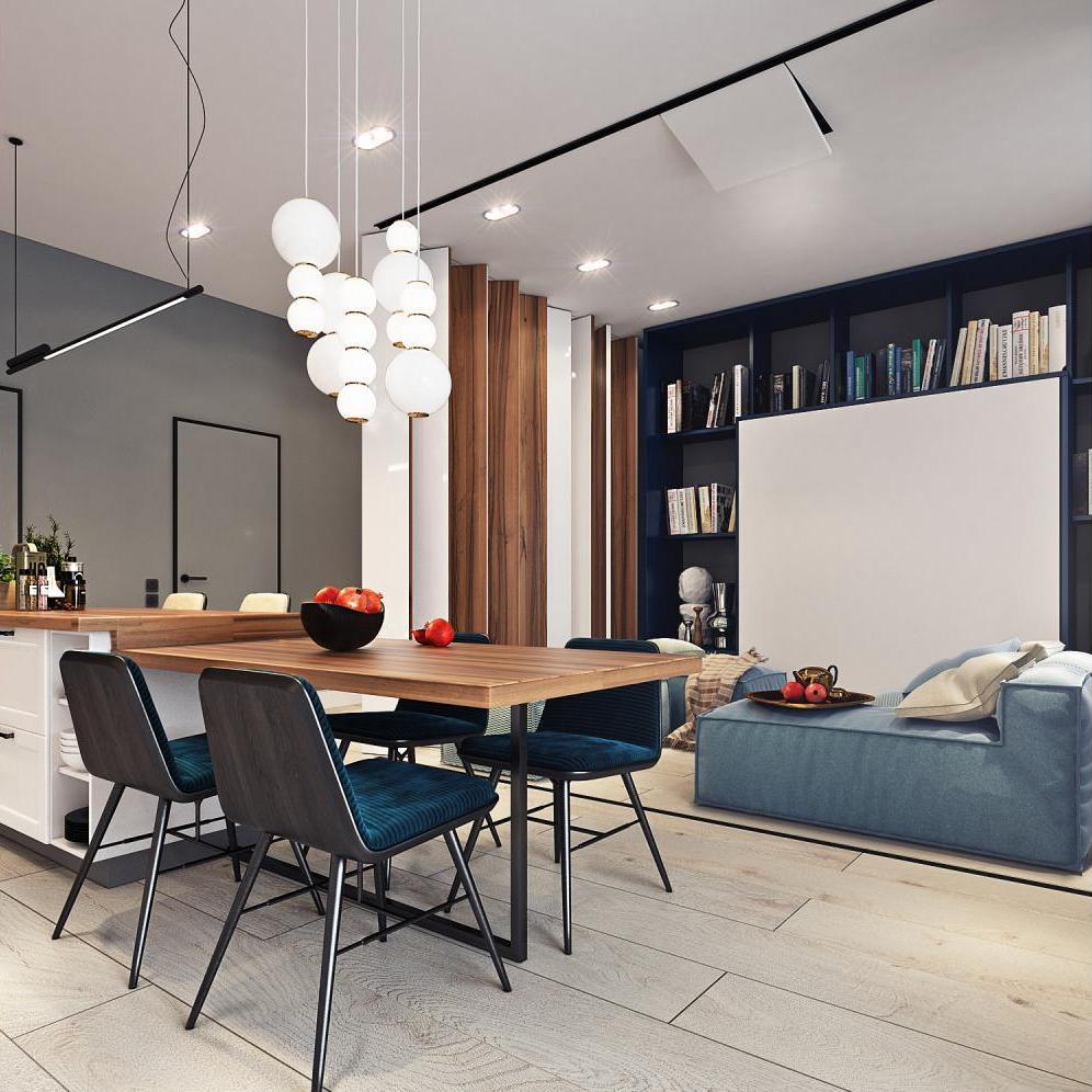 ruang tamu dan ruang makan 9