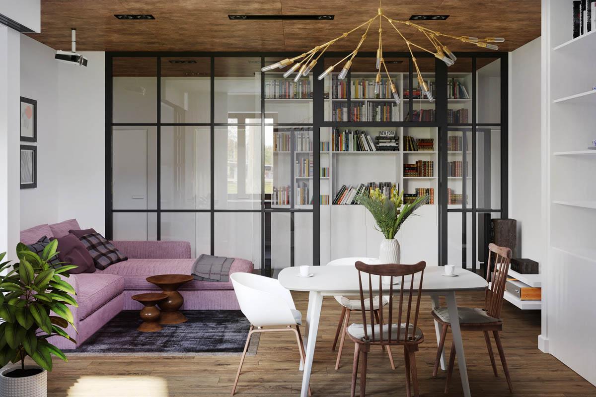 ruang tamu dan ruang makan 8