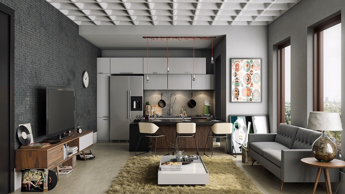 ruang tamu dan ruang makan 6