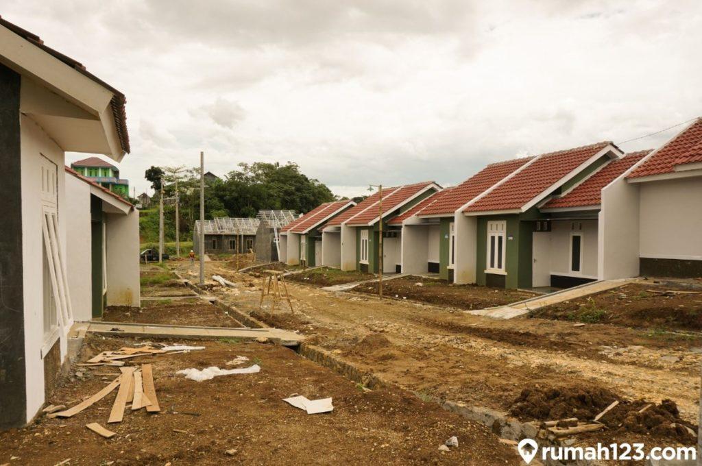 ilustrasi pembangunan rumah subsidi