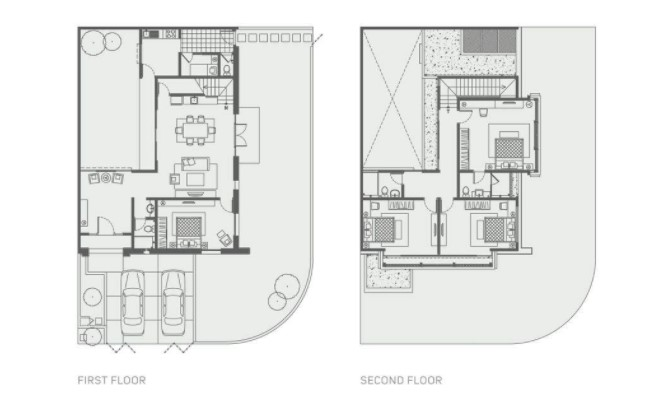 Denah Rumah Mewah Modern