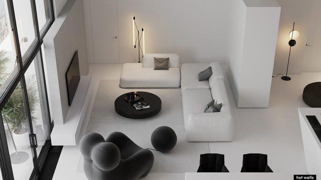 furniture rumah monochrome 2