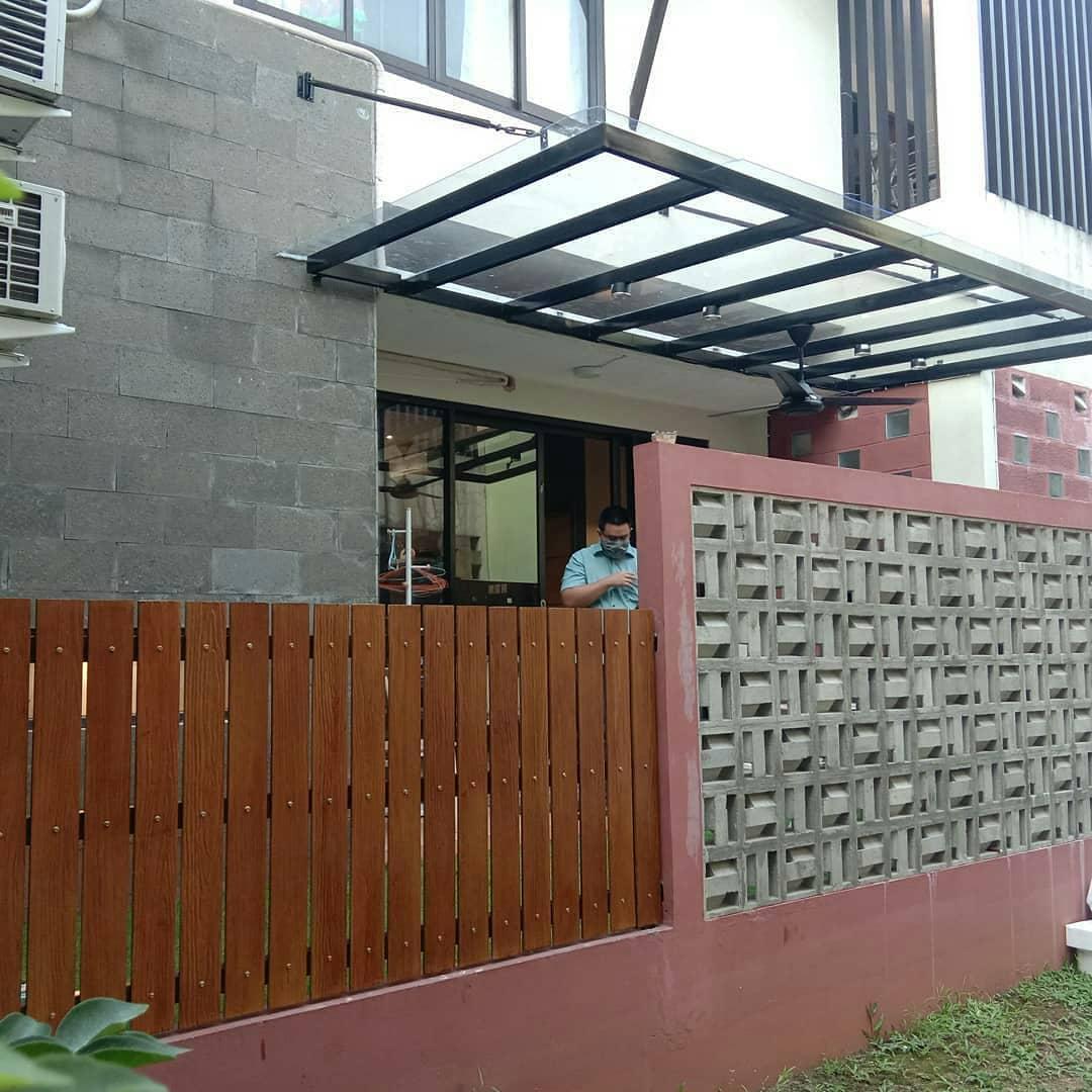 Model Pagar Rumah Tembok