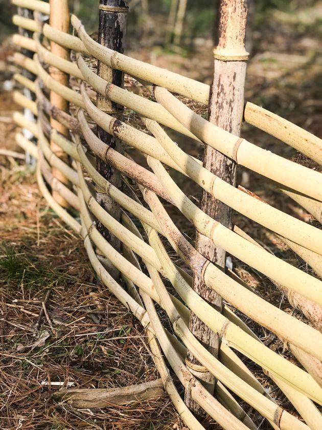 pagar bambu 7