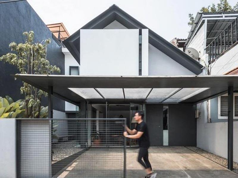 Teras rumah minimalis, cara membersihkan teras rumah minimalis