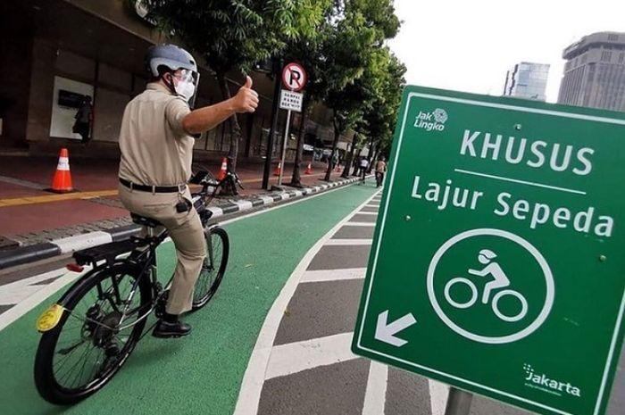 jalur sepeda jakarta