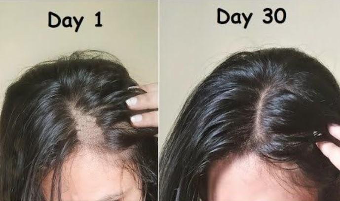menebalkan rambut