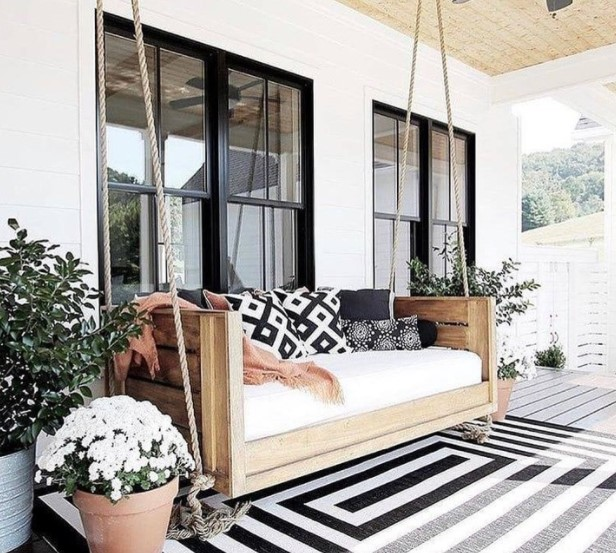 Mengharmonisasikan pola dan motif pada ruang tamu