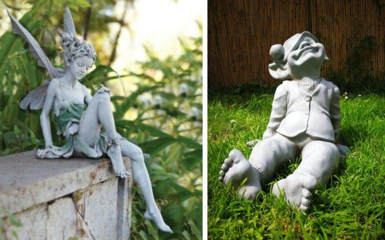Estetis dan Mewah! Ini 6 Patung Dekorasi Minimalis untuk Halaman Belakang Rumah