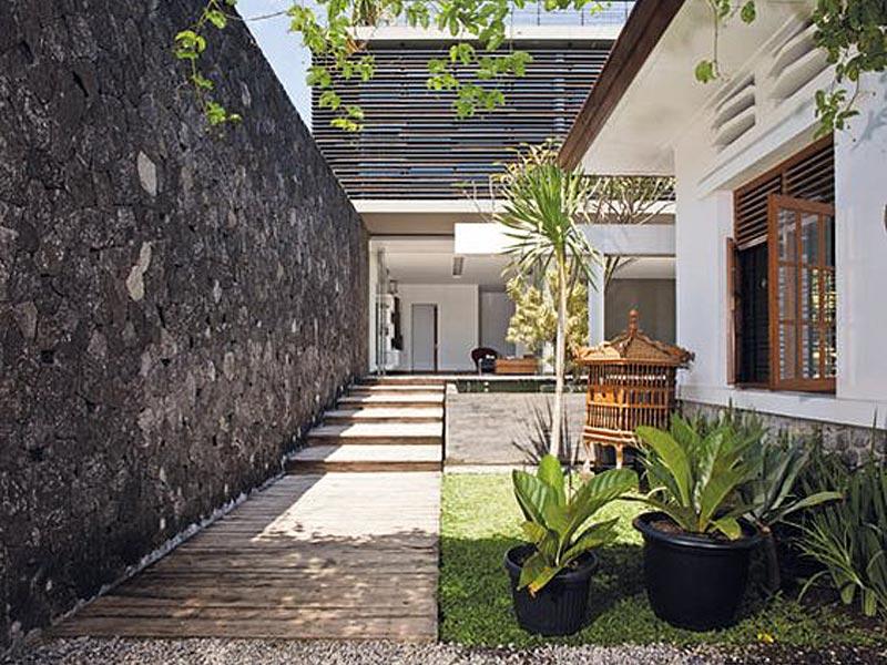 desain teras rumah, desain teras rumah gaya kontemporer