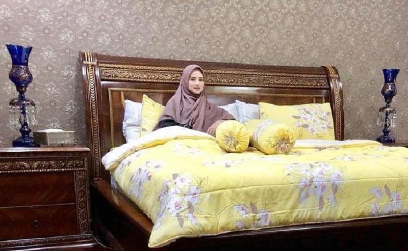 Mulan Jameela, kamar mewah Mulan Jameela