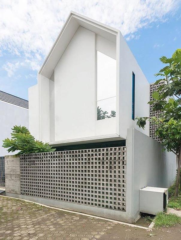 Pagar Tembok Rumah Minimalis Type 36, pagar tembok rumah, pagar tembok minimalis