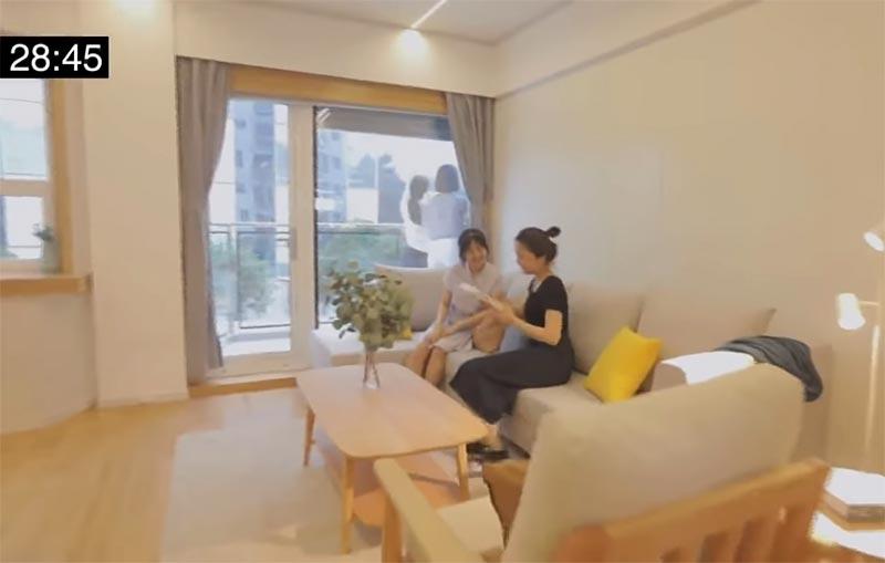 apartemen lantai 10 di China