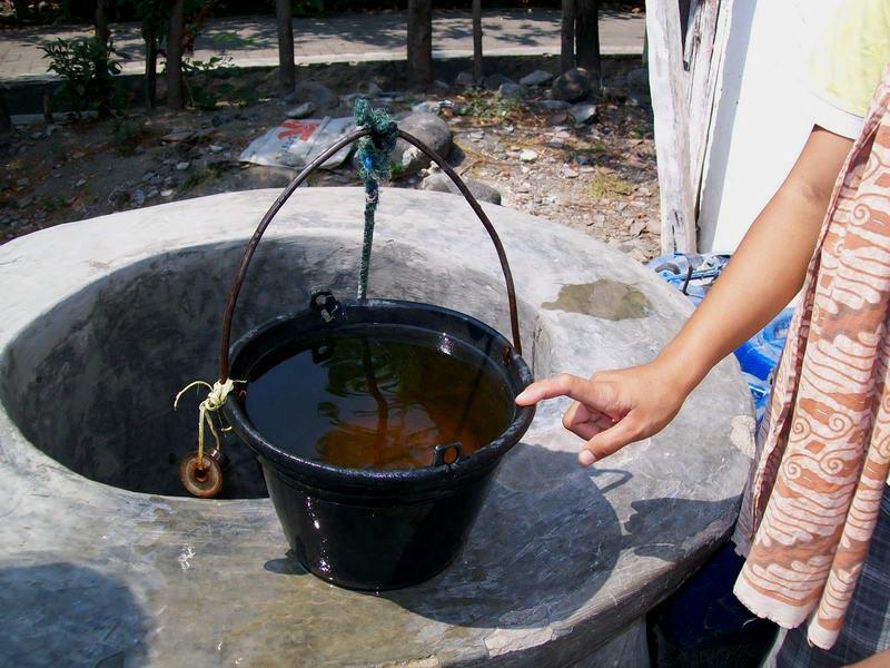 Cara mengatasi bau besi pada air sumur, air sumur bau besi