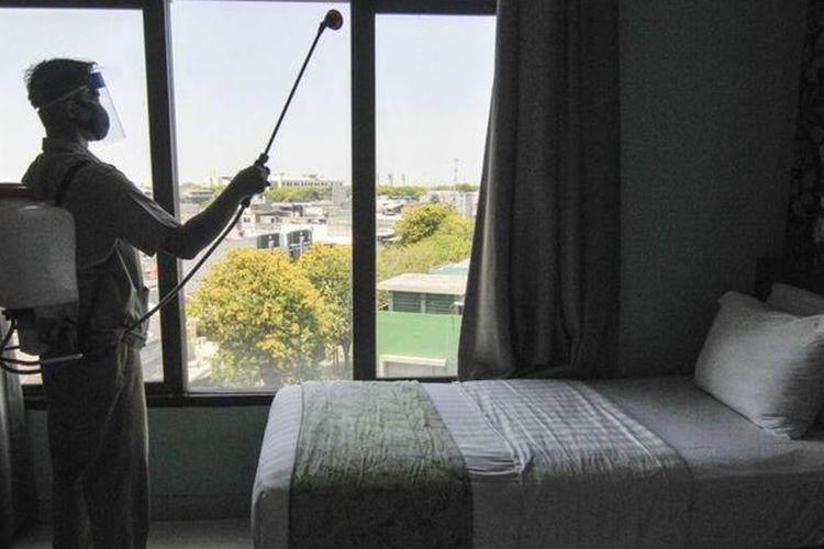 hotel untuk isoman