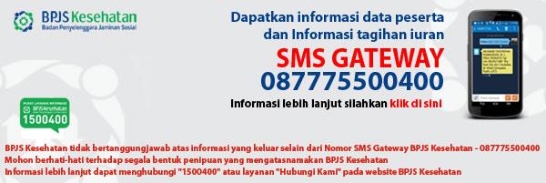 SMS Cek Kartu BPJS Kesehatan