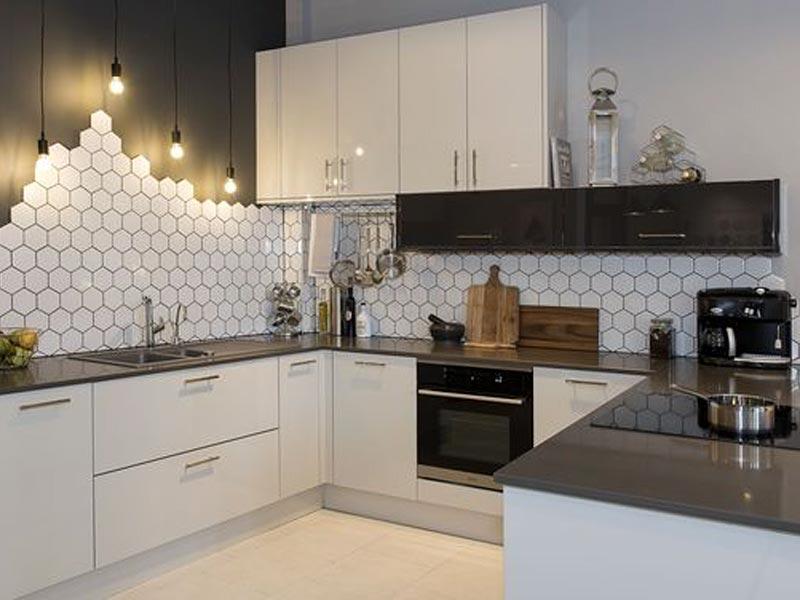 Dinding dapur minimalis