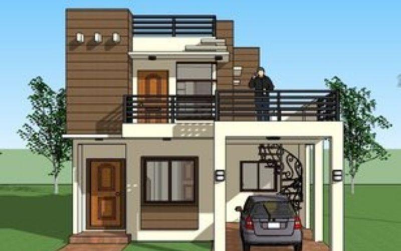 10 Inspirasi Rumah Minimalis 2 Lantai Dengan Rooftop Kekinian Bisa Bikin Tetangga Takjub Rumah123 Com