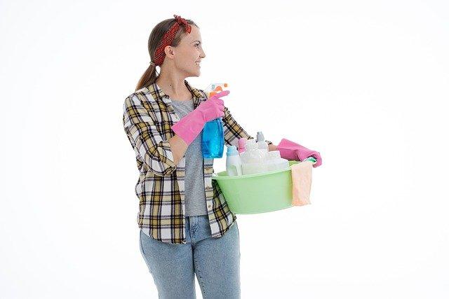 cara membersihkan rumah isoman covid 1