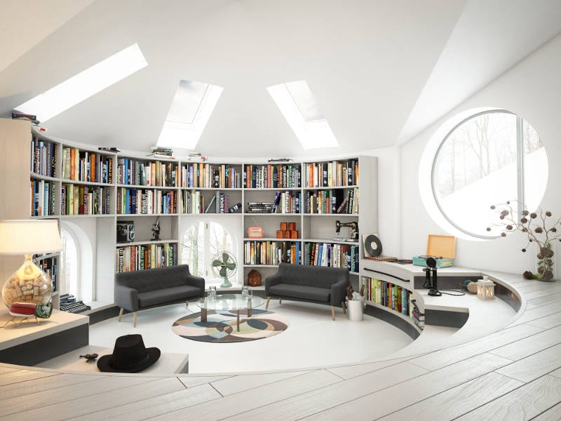 Desain interior rumah minimalis zodiak 10