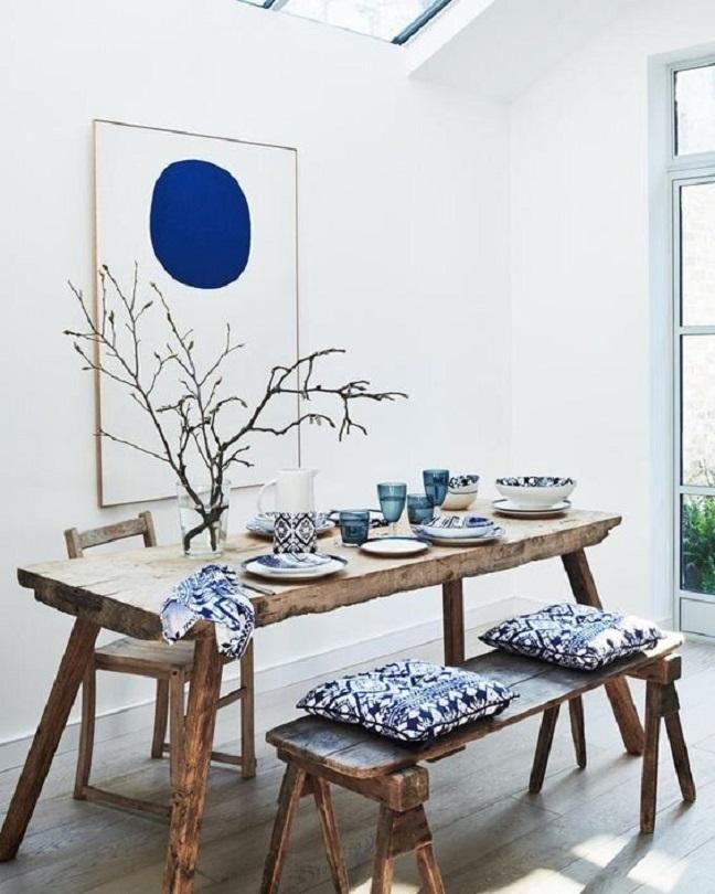 ruang makan japandi