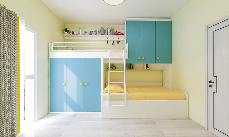 Desain Kamar Tidur Anak dengan Bunk Bed