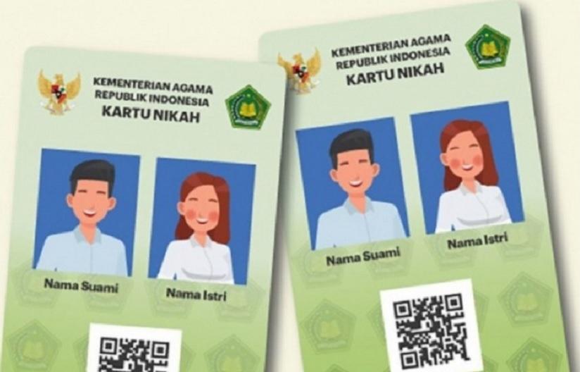 kartu nikah digital