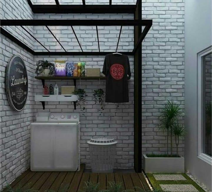 ruang cuci dan jemur 8