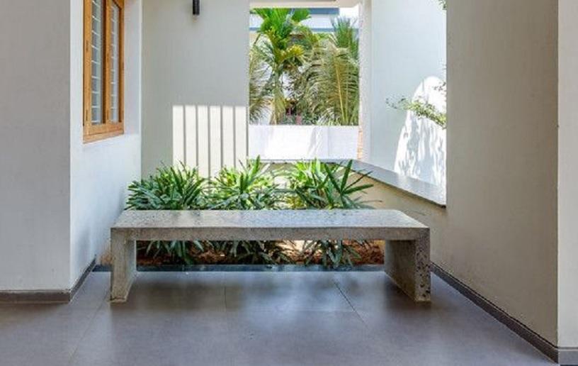 taman dalam rumah minimalis
