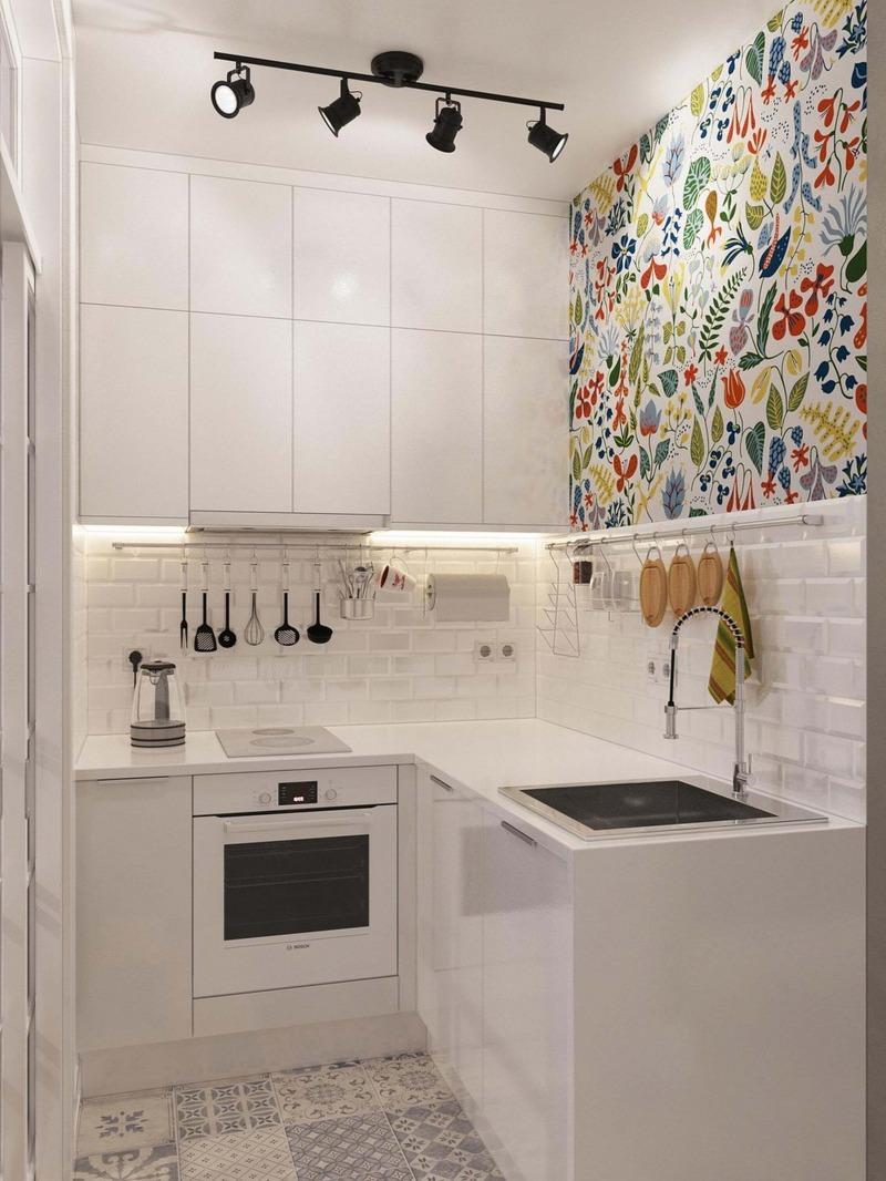 desain dapur minimalis 2x2 4