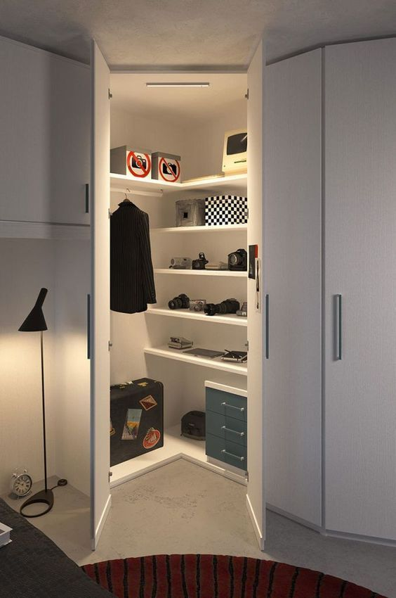 lemari pakaian minimalis L 4