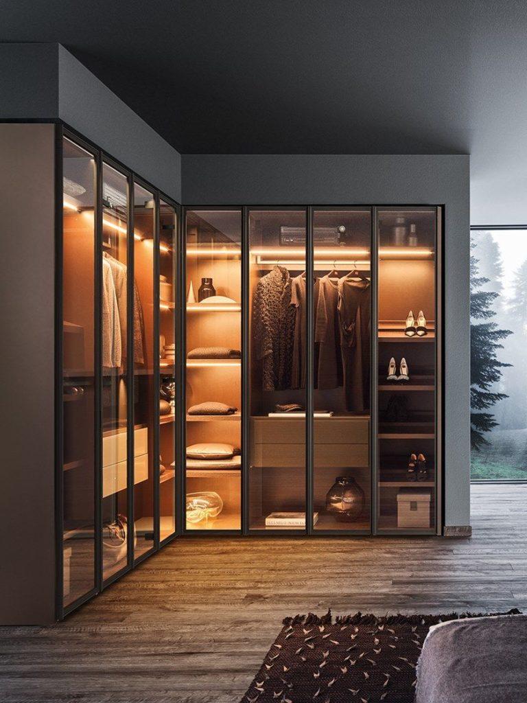 lemari pakaian minimalis L 1