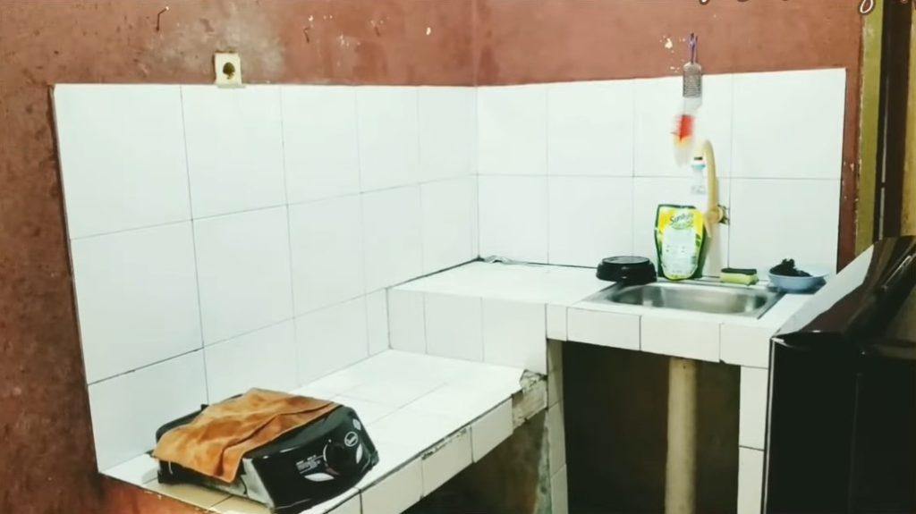 before dapur rumah kontrakan 1 petak